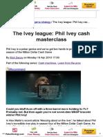 PKR _ Raise Your Game _ Phil Ivey Cash Masterclass