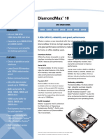 Diamondmax 10 Data Sheet