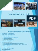 Capitolul 1 Geopolitica 2018