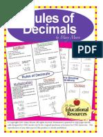 rulesofdecimalslessonfreebiewithguidednotes