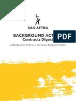 background actors - sag-aftra