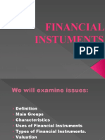 Financial Instuments