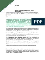 Recurso de Reposicion Bloque Cubarral Abril 8 Del 2016