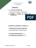 Nivelacion Longitudinal y Transversal