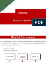 Cours-Architectures Des Processeurs-Mr Nizar TOUJANI