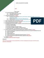 Analiza Unui Proiect de Investitii Directe_Cuprins