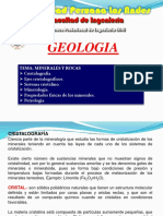 Geologia  Clase IV  Minerales y Rocas