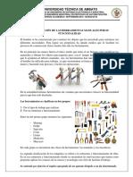 3. Clasificación de Las Herramientas Manuales Por Su Funcionalidad