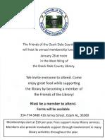 1. FOL Membership Luncheon Flyer