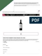 Vinho Tinto Humberto Canale Malbec 2016 750 ML