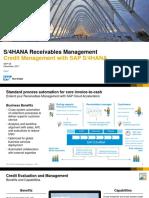 SAP Credit Management_ChangeswithS4HANA
