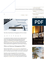 The Most Used Revenue Management KPI's for Hotels
