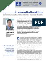 Sport et mondialisation - Note d'analyse géopolitique n°3 octobre 2010
