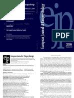 European Journal of Parapsychology v23-2 2008