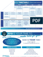 Swift Fitness Timetable_2019