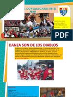 Danzas Con Mascaras Del Peru