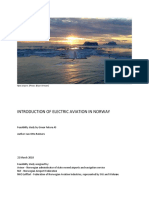 E FLIGHT Introduction of Electric Aircraft in Norway