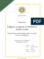 AMAN La Conquista y Los Indios Como Representación en Los Libros Escolares