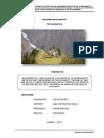 estudio topográfico para saneamiento básico