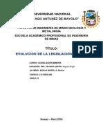 LEGISLACION MINERA