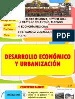 CAPÍTULO I DESARROLLO ECONOMICO Y URBANIZACIÓN.pptx