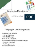 pengkajian manajemen