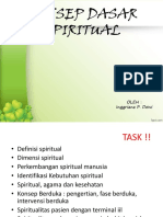 1. SPIRITUAL Dalam Pandangan Islam