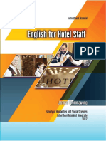 English for Staff - Hotels