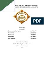 Praktikum Kimia Analitik Permanganometri