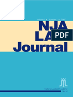 NJA Law Journal 2007