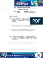 Evidencia 2 Formato Descripcion y Analisis de Cargo (New