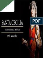Afiche Santa Cecilia
