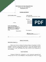 City Land v. City of Makati
