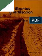 Fertilizantes y Fertilización Fundamentos y Métodos Para La Fertilizació