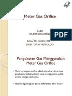 Meter Gas Orifis