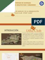 Villa Club Etapa Luna Informe Final