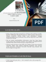 Mencetak Calon Wirausaha Mandiri