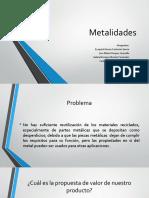 Metalidades