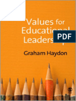 Values foe Educational Leaders