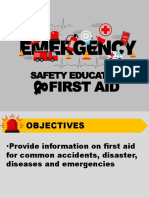 Emergency Safety Education and First Aids