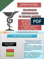 Pelayanan Farmasi Dibidang Apotek