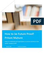 How to Be Future Proof - 2nd Edn - 2019 - Pritam Mahure