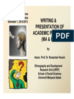 Writing Presentation of Academic Proposal Compatibility Mode