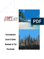The Investor's Guide to Doing Business in the Philippines