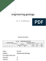 0 Engineering Geology Syllabus
