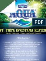 Aqua Danone Violating
