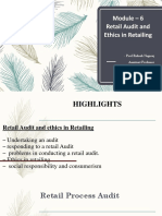 Module – 6.Pptx-Audit and ETHICS in RETAIL