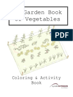 Coloring Book of Vegetables