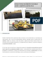 PROCESO CONSTRUCTIVO PAVIMENTACION FLEXIBLE