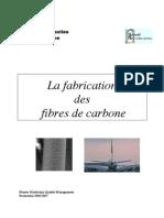 La Fabrication Des Fibres de Carbone